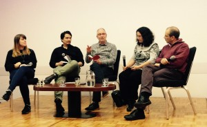 Emily, Eric, Tim, Beth and Walter on jazz and cultural heritage