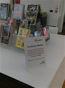 Library Jazz Event notice