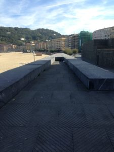 A dead end, at the Kursaal