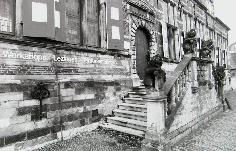 Kloveniersdoelen, Middelburg, ca.1984. Photo: Jaap Wolterbeek, Zeeuwse Bibliotheek, Beeldbank Zeeland, record nr. 13763